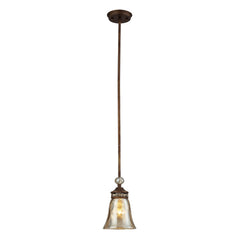 Cheltham 1 Light Pendant In Mocha