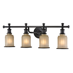Acadia Collection 4 light bath in Oil Rubbed Bronze