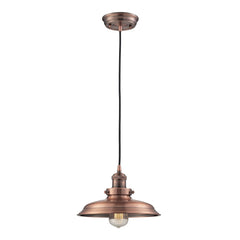 Newberry Collection 1 light mini pendant in Antique Copper