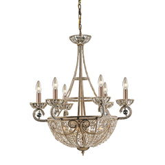 10 Light Chandelier In Dark Bronze