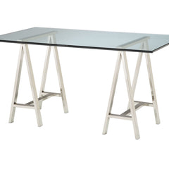 Architect's Table-Base - Polished Nickel