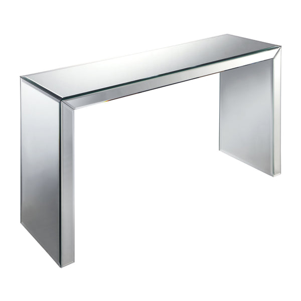 Matinee Hall Table in Clear, Mirror