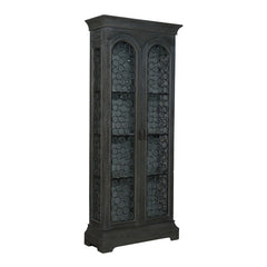 "Grey Winston Cottage Cabinet - 88""x36"""