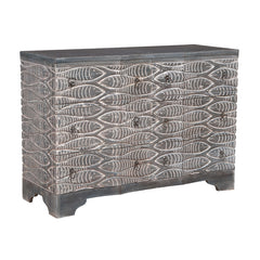 "Grey Waterfront Harmony Chest - 34""x48"""