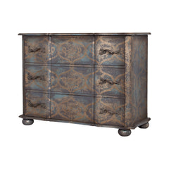 "Duchess Chest in Textured Gold Finish - 46""x66"""