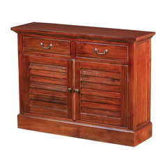 2 Drawer Kurman Dresser Chest in Mohogany
