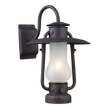 Chapman 1-Light Sconce In Matte Black