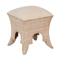 "Natural Princess Ottoman - 18""x15"""