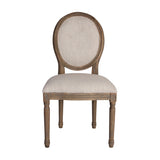 "Guild Master Natural Allcott Side Chair - 39""x24"""
