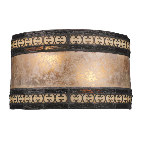 Mica Filigree 2-Light Sconce In Tiffany Bronze