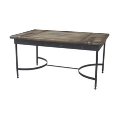 Castle Gate Table In Castle Gate and Signature Black