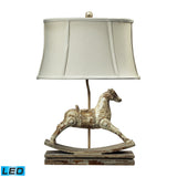 "Diamond Lighting 24"" Traditional Carnavale Rocking Horse LED Table Lamp in Clancey Court Finish"