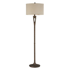 "65"" Transitional Martcliff Floor Lamp in Burnished Bronze"
