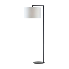 "59"" Contemporary Bronze Stem Floor Lamp"