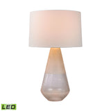 "Diamond Lighting 28.75"" Transitional Two Tone Glass LED Table Lamp"