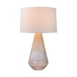 "28.75"" Transitional Two Tone Glass Table Lamp"