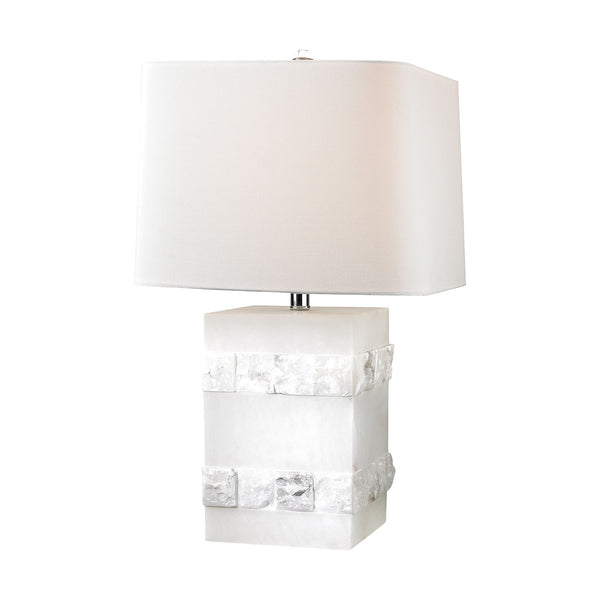 "26"" Transitional Mystery Cube Table Lamp"