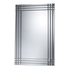 Contemporary Darien Mirror