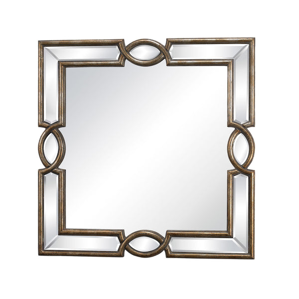 Transitional Syracuse Mirror For Trump Home