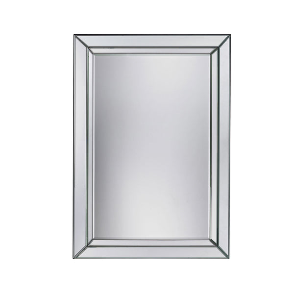 Contemporary Arriba Beveled Mirror For Trump Home