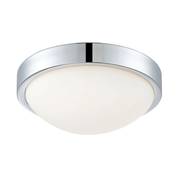 Sydney Sm LED 12W Flush Mount Pol. Chrome 3000K