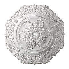 Marietta Medallion 33 Inch In White Finish