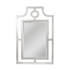 "Clear ""Bosworth"" Contemporary Mirror"