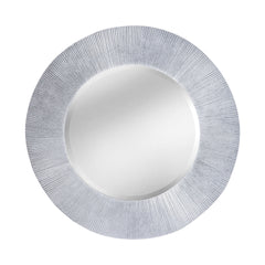 "Bright Silver ""Attra"" Contemporary Mirror"