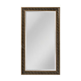 "Light Silver, Gold and Black ""Clearfield"" Transitional Mirror"