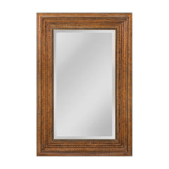 "Crackled Bronze ""Barnett"" Traditional Mirror"