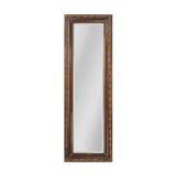 "Bronze and Venetian Gold ""Glenroy"" Transitional Mirror"
