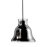 Contemporary Bolero Pendant Lamp - 120V - Chrome/Chrome