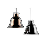 Alico Contemporary Bolero Pendant Lamp - 120V - Chrome/Chrome