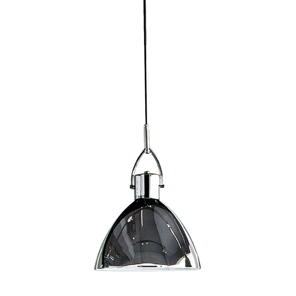 Veleta Ceiling Pendant - Chrome Shade w/Chrome