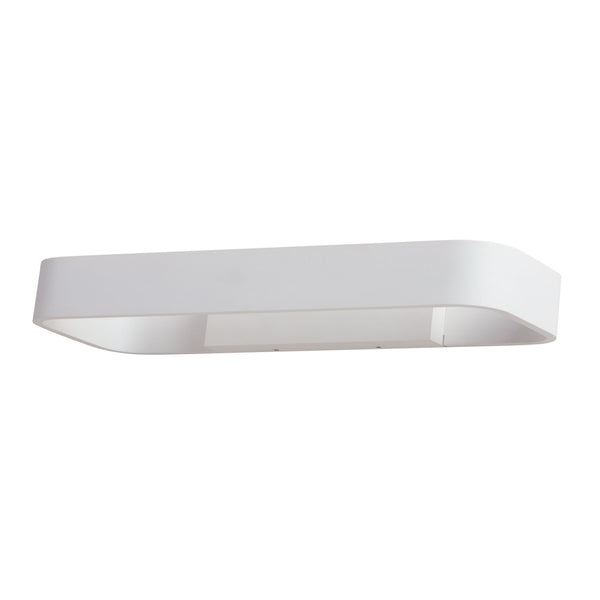 Truro LED Large Contemporary Wall Sconce - 8W LED In White