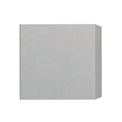 Castle LED Sq. Wall Sconce Concrete/Shiny White
