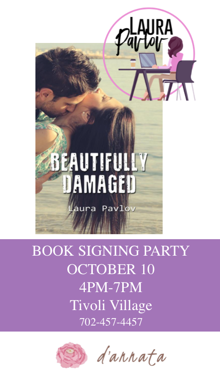Beautifully Damaged Book Signing Party