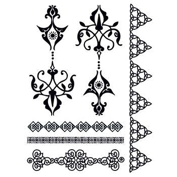 Classic Faux Henna Temporary Tattoo Aspirational
