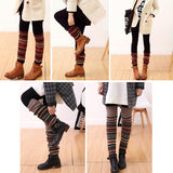 Leg Warmers Boot cuffs in three color options can be worn several different ways