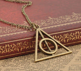 Harry Potter Deathly Hallows Necklace Bronze