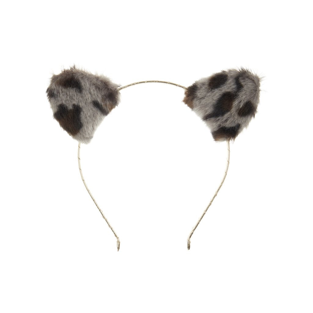 Leopard Ears Alice Band