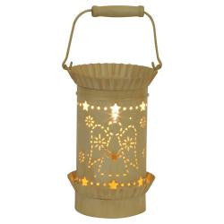 Tin Lantern Style Tart Warmer - Angel