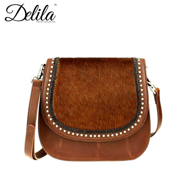 Delila 100% Genuine Leather Hair-On Hide Collection