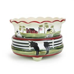 Dairy Farm Candle Warmer 2 in 1
