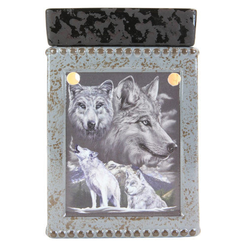 Tall Wolf Tart and Oil Warmer