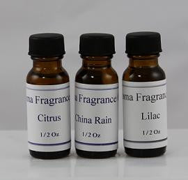 Scented Oils 1/2 oz Size. Many Scents to pick from.