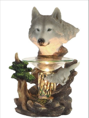 Wolves Poly Resin Warmer