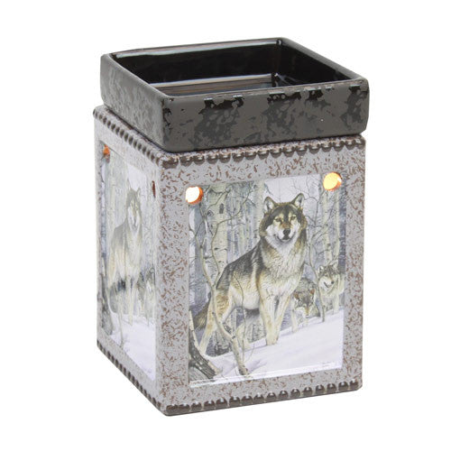 Tall Wolf Candle Warmer