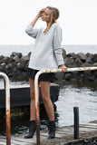Sale Item - Jayla Oversized Knit (Grey) - Light & Beauty xoxo