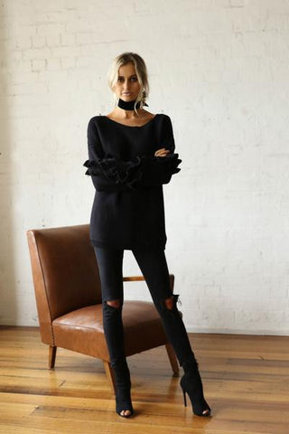 Hadid Knit (Black)